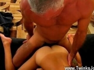 Mature gay man fucks a virgin boy porn This cool and bulky hunk has
