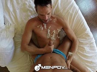 MenPOV - Hot Studs Max Bredwell & Texas Holcum Fuck POV