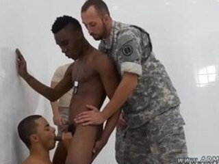 Cowboy gay sex boot and pakistani old man R&R, the Army69 way