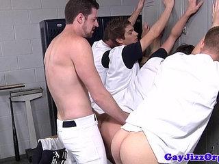 Andrew Stark fucking some baseball dudes