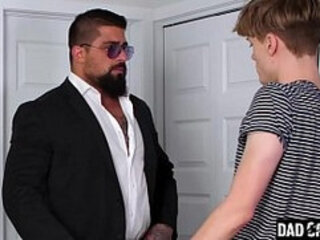 Daddy Teaches His Step Son A Lesson About Fooling Around With Strangers - Adrian Hill, Ryan Bones