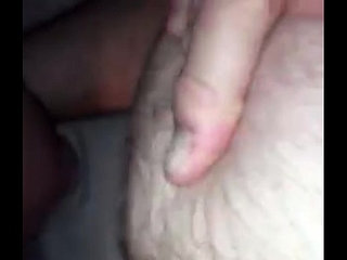 amateur old man assfucks young twink and gape his hairy ass bareback and farts