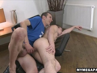 Guy gets woken up with a big bareback dick in his asshole