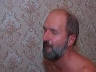 Old dude licks asshole fucking anally
