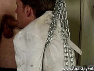 Amateur gay straight jerk Aiden is charged with breaking in and using