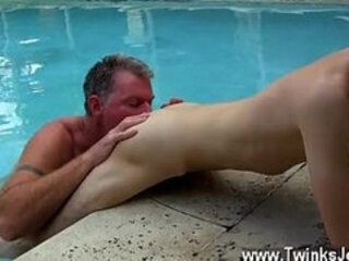 Hot gay Brett Anderson is one fortunate daddy, he's met up with wild