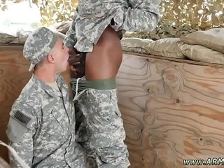 Gay porn military movie first time hot wild troops!