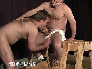 Hardcore gay bear fetish scene
