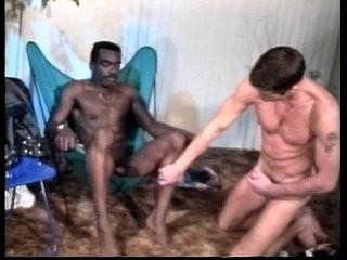 VCA Gay - Black Leather White Studs - scene 2