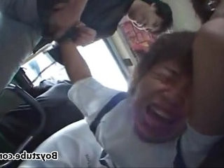 Japanese Boy Attacked on the Bus