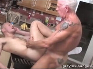 Cowboy Dad fucks naughty boy