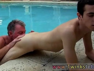 First gay male sex Daddy Brett obliges of course, after sharing some