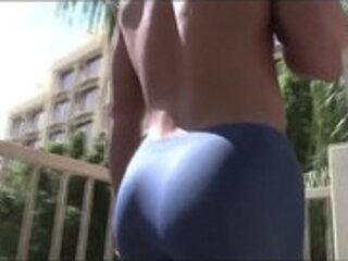 Man big juicy muscle bubble butt.