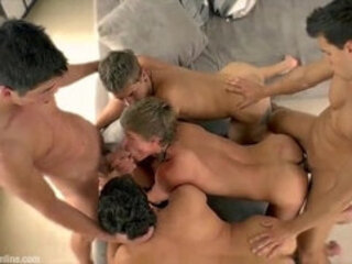 Orgy session with Kris Evans