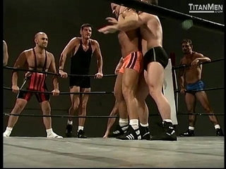 Naked Combat Nude Gay Wrestling On TitanMen.com