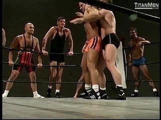 Naked Combat Nude Gay Wrestling On TitanMen.com