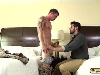 Darin sucks Marcus dick and goes on top