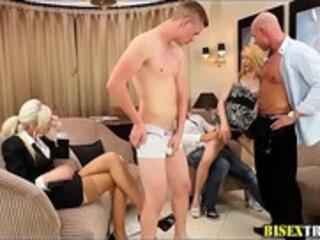 Bi muscled hunks naked