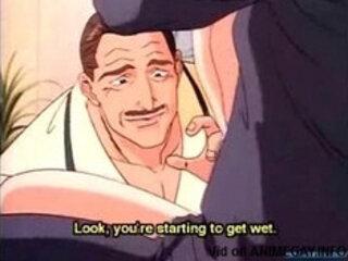 Hentai gay businessman