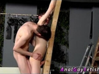 First time boy gay sex image Victim Aaron gets a whipping, then gets
