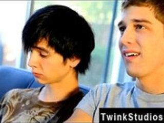 Teen orgasm full hd porn free Levon and Aidan enjoy eyeing gay